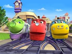 Chuggington2 Пазлы онлайн для детей играть бесплатно   Зарубежные мультфильмы