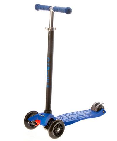 maxi micro blue mm0035 Самокат макси микро для детей 5 12 лет, цвет синий