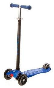 maxi micro blue v Самокат Mini Micro Sporty Neon 3в1 голубой MM0054