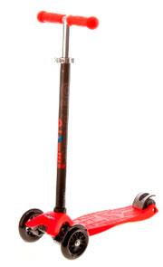 maxi micro red v Самокат трехколесный Mini Micro красный MM0008