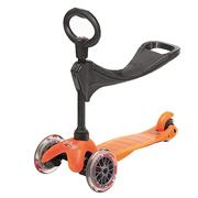 Mini Micro оранжевый с сидением 3в1