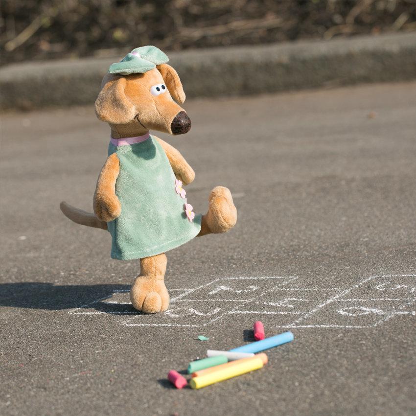 Мягкая игрушка Собака Жужа 30см orange toys