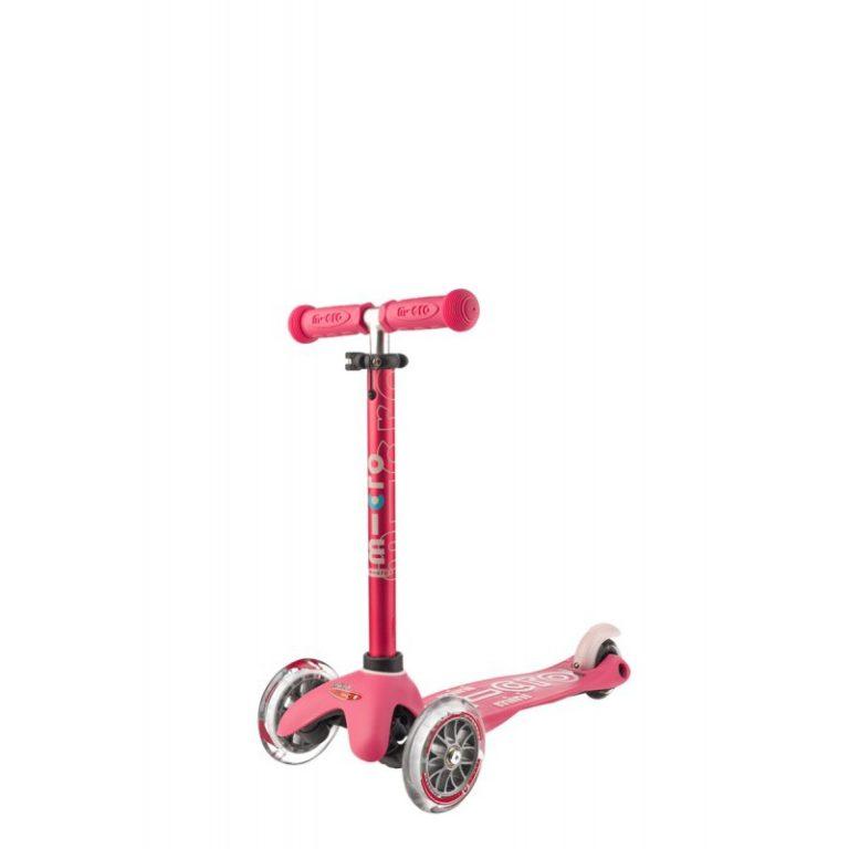 Самокат розовый Mini Micro MMD003 768x768 Самокат Mini Micro Deluxe Розовый MMD003
