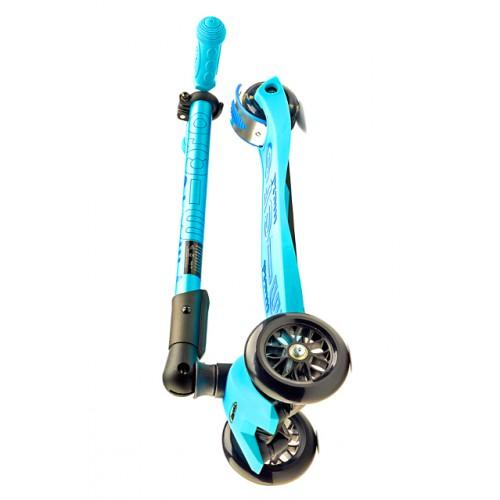 Самокат трехколесный Maxi Micro Deluxe mmd027 голубой Самокат трехколесный Maxi Micro Deluxe Голубой mmd027