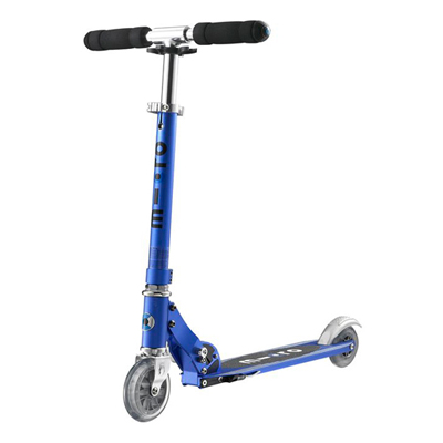 Samokat dvuhkolesnyiy Micro Sprite Sapphire Blue oblegchennyiy SA0084 Купить Самокаты Микро Скутер Спрайт облегченные / Micro Scooter Sprite ОФИЦИАЛЬНЫЕ с гарантией 24 месяца!!!