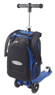 maximicro RucksackTbar 4in1 blue AC9008 3 232x400 1 Самокат трехколесный Maxi Micro 4в1 синий с рюкзаком ручка Т MM0170
