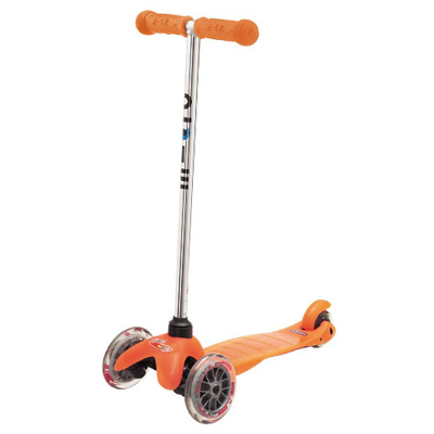 mini micro orange mm0005 1 Самокат Mini Micro Sporty Neon 3в1 оранжевый MM0055