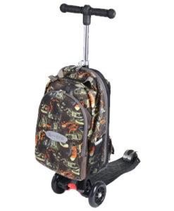 mm4v1 black 1 247x300 Купить Самокат трехколесный Макси Микро / MAXI micro scooter 4в1 с рюкзаком для детей 4 12 лет ОФИЦИАЛЬНЫЕ с гарантией 24 месяца!!!