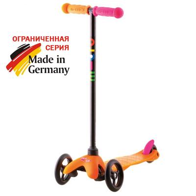 mm neon spo oranzhevyj b 1 Самокат Mini Micro Sporty Neon оранжевый