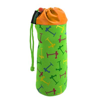 ms derj11 1 Держатель для бутылок. Зеленый неон AC4025