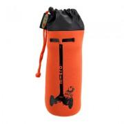 Держатель для бутылок. Оранжевый (3 колеса)