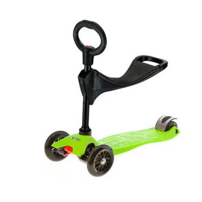 ms maxi lime green 1 Самокат Maxi Micro 3в1 зеленый MM0049sid