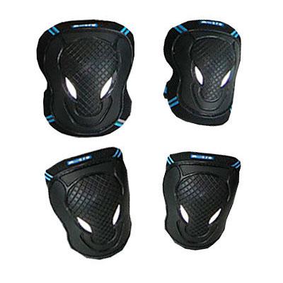 ms zahita5 1 Защита коленей и локтей детская. Черный цвет, размер S (15 35 кг) AC8007