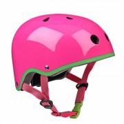Шлем Micro. Неон розовый
