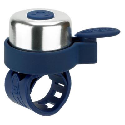 zvonok micro dark blue AC4452 400x400 Звонок для самоката / беговела Микро цвет Синий темный AC4452