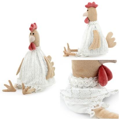 Мягкая игрушка Курочка Олеся 40см