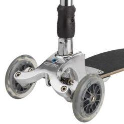 'Micro Kickboard Original KB0021 247x247 Колесо для самоката переднее Mini Micro, Maxi Micro, Kickboard Original, Micro Light, Micro Sprite   ∅ 120 мм прозрачное / AC5005B