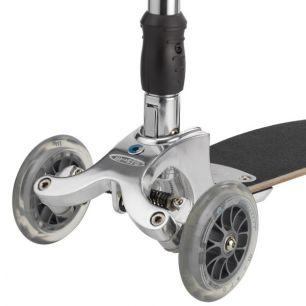'Micro Kickboard Original KB0021 Колесо для самоката переднее Mini Micro, Maxi Micro, Kickboard Original, Micro Light, Micro Sprite   ∅ 120 мм прозрачное / AC5005B