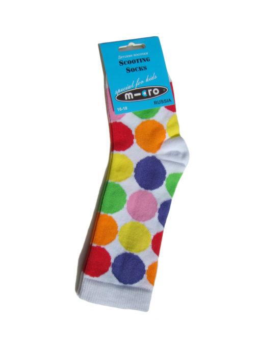 Golfyi detskie Mikro Neonovyiy goroh Micro Neon Dots 510x680 Гольфы детские Неоновый горох в стиле Микро. Подарим нашим покупателям самокатов!