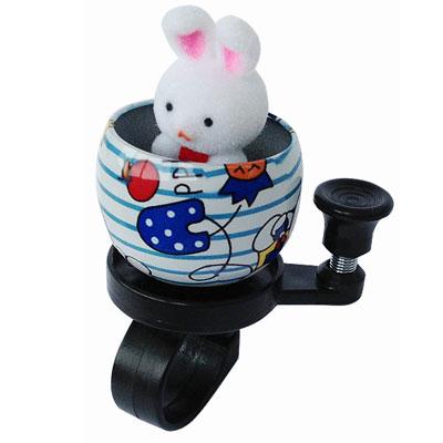 bell rabbit 1 Звонок для самоката / беговела Зайчик   Bunny FB BL09