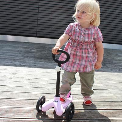 lino pink3 1 Самокат Mini Lino розовый MO0003