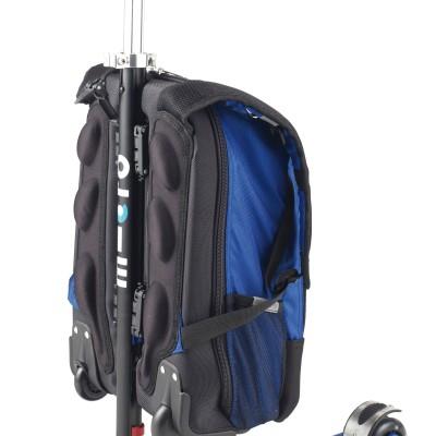 maximicro RucksackTbar 4in1 blue AC9008 2 400x400 1 Самокат трехколесный Maxi Micro 4в1 синий с рюкзаком ручка Т MM0170