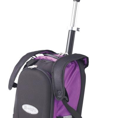 maximicro RucksackTbar 4in1 purple AC9010 400x400 1 Самокат трехколесный Maxi Micro 4в1 сиреневый с рюкзаком ручка Т MM0171