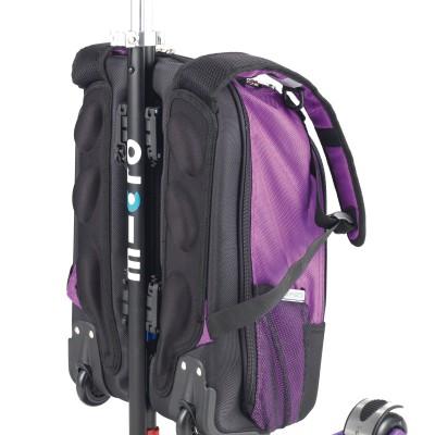 maximicro RucksackTbar 4in1 purple AC9010 5 400x400 1 Самокат трехколесный Maxi Micro 4в1 сиреневый с рюкзаком ручка Т MM0171