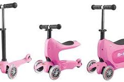 mini2go pink 247x165 Самокат Micro Mini2Go розовый c сиденьем MM0208