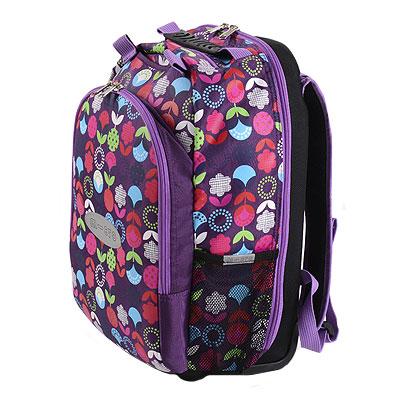 mm4v1 siren3 1 Самокат трехколесный Maxi Micro 4в1 Floral с рюкзаком ручка Т MM0189