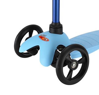 mm neon spo blue b2 1 Колесо для самоката переднее Mini Micro, серия самокатов Candy / Sporty / Neon made in Germany   ∅ 120 мм черное / 12446