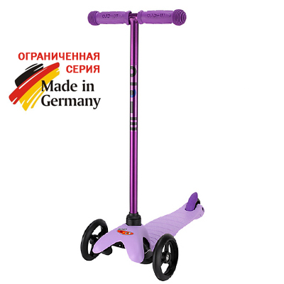 mm neon spo purpul b 1 Самокат Mini Micro Sporty Candy 3в1 лиловый MM0136