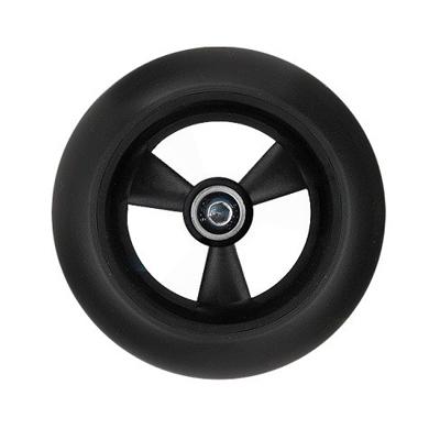 ms koleso9 1 Колесо для самоката заднее Mini Micro, серия самокатов Candy / Sporty / Neon made in Germany   ∅ 80 мм черное / 12447