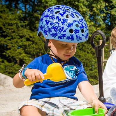 ms shlem2 1 Детский шлем Micro. Синий размер S (48 53 см) AC2004