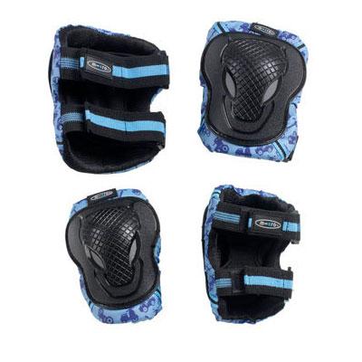 ms zahita8 2 Комплект защиты. Синий размер M (35 50 кг) AC8005