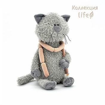 myagkaya igrushka Kot Obormot s Sosiskami 30sm orange toys Мягкая игрушка Кот Обормот с Сосисками 30см orange toys