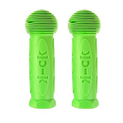 ruchki greenL 1 Ручки для самоката Maxi Micro и Mini Micro, зеленый лайм, 2 шт., hand 1357