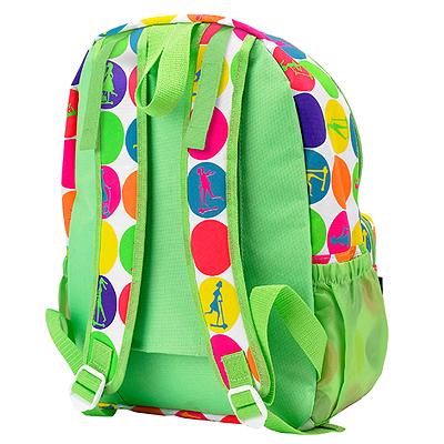 rukzakGoroh2 1 Рюкзак для Mini Micro & Maxi Micro. Неоновый горох AC4443