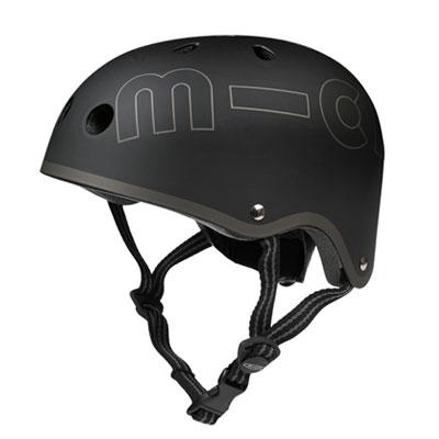 shlem microblack 1 Детский шлем Micro. Черный размер М (53 57 см) AC2029