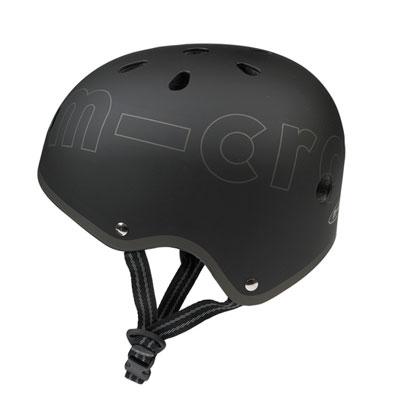 shlem microblack2 1 Детский шлем Micro. Черный размер М (53 57 см) AC2029