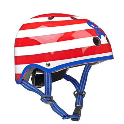 shlem micropirat 1 Детский шлем Micro. Пираты размер S (48 53 см) AC2042