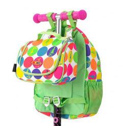 sumkaGoroh3 1 247x247 Рюкзак + сумочка ланчбокс для Mini Micro & Maxi Micro. Неоновый горох AC4441