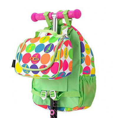 sumkaGoroh3 1 Рюкзак + сумочка ланчбокс для Mini Micro & Maxi Micro. Неоновый горох AC4441
