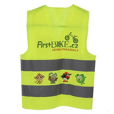 zhiletka2 1 Жилет светоотражающий детский First Bike