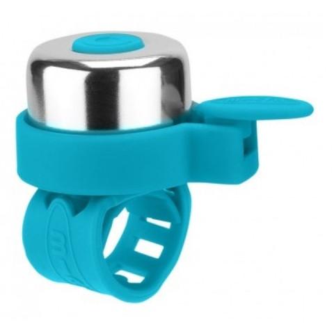 zvonok micro aqua AC4490 Звонок для самоката / беговела Микро цвет Аква AC4490